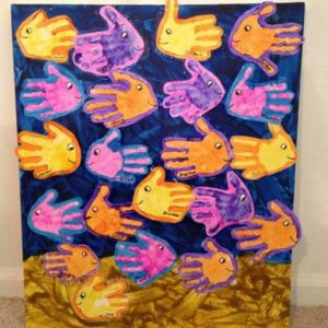 handprint-fish-art