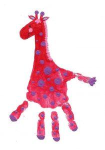handprint-giraffe-art