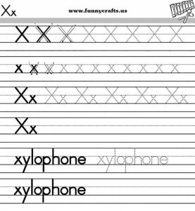 letter-x-handwriting-worksheets-for-preschool-to-first-grade