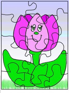 make-a-puzzle-coloring-page-flower-1