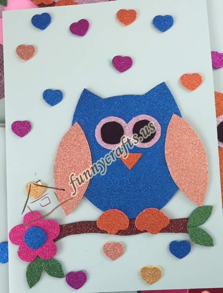 Preschool Owl Craft Template