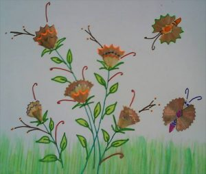 pencil-sharpener-trash-butterfly-craft