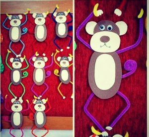 pipe-cleaner-monkey-craft