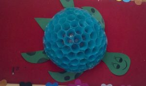 plastic-cup-turtle-craft