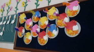 plastic-plate-bird-craft