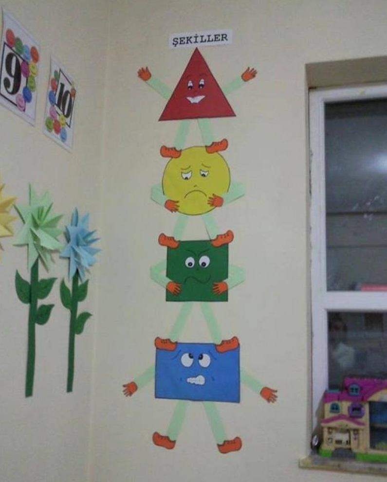 Free Shape Crafts For Preschoolers