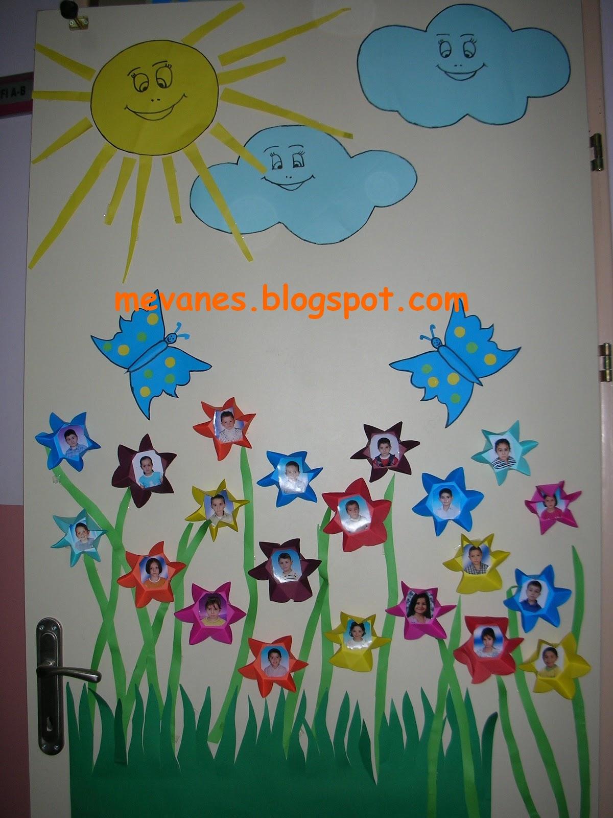 Easter door decoration ideas for school funnycrafts -  Preschool Door Decorations 8