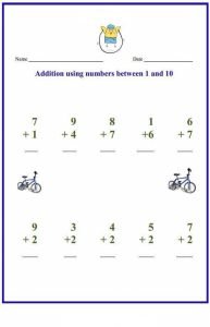 math worksheet : preschool math worksheets free printables for kids 4 « funnycrafts : Preschool Math Worksheets Free