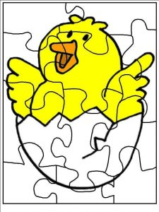 puzzle-coloring-pages-to-print-chick-1