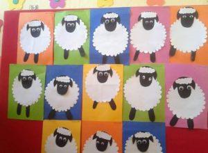 sheep-bulletin-board-idea
