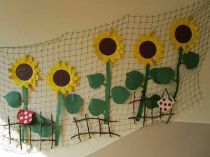 sunflower-wall-decorations
