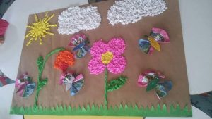 tissue-paper-spring-craft
