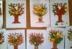 tissue-paper-tree-craft
