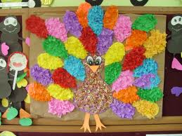 tissue-paper-turkey-craft