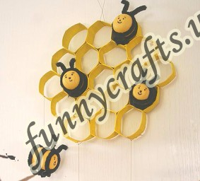 toilet-paper-roll-bee-craft-idea