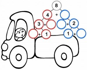 vehicles-addition-worksheet-2