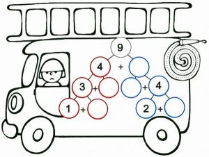 vehicles-addition-worksheet-4