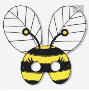 bee-mask-craft
