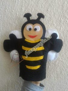 bee-puppet-craft