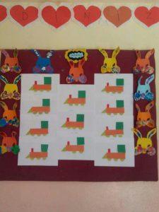 bunny-bulletin-board-idea