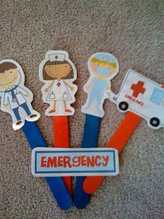 Doctors Nurse And Dentist Crafts For Preschool