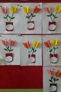 flower-bulletin-board-idea