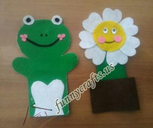 frog-and-flower-hand-puppet-design