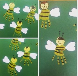 handprint-bee-art-idea