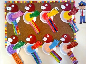 paper-plate-bird-bulletin-board-idea
