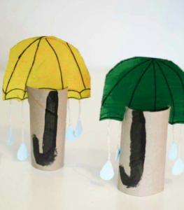 paper-roll-umbrella-craft