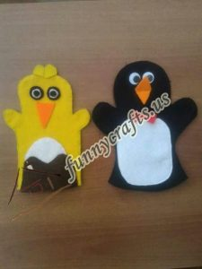 penguin-puppet-craft