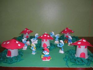 plastic-cup-smurfs
