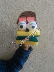 sponge-puppet-craft