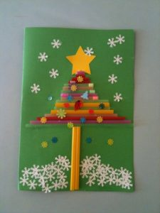 straw-christmas-tree-craft