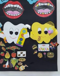 teeth-bulletin-board-idea