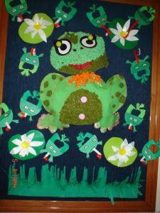 tissue-paper-frog-craft