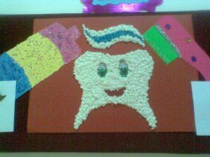 tissue-paper-teeth-craft-idea