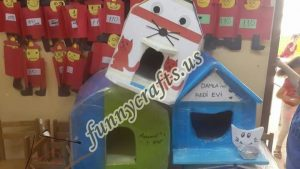cardboard-cat-house-craft-ideas-1