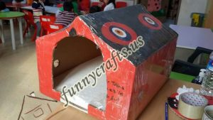 cardboard-cat-house-craft-ideas-14