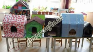 cardboard-cat-house-craft-ideas-15