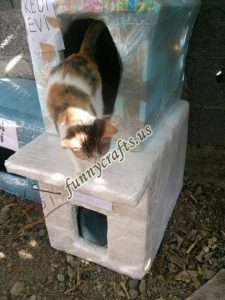 cardboard-cat-house-craft-ideas-5