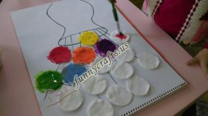 cotton-pads-flower-art-idea-step-6