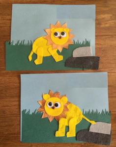 felt-lion-craft