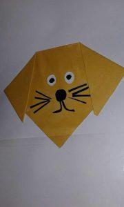 folding-paper-dog