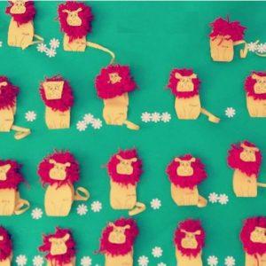 lion-bulletin-board-idea-1