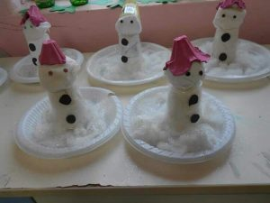 plastic-plate-snowman-craft-ideas