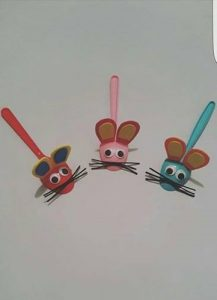 plastic-spoon-mouse-craft