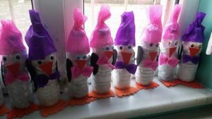 reycled-bottle-penguin-craft