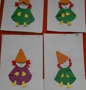 Folding Paper Craft For Preschoolers Funnycrafts