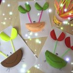 Folding paper craft for preschoolers